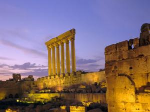 The Temple of Jupiter, Baalbek, Bekaa Valley, Lebanon by Charles Bowman