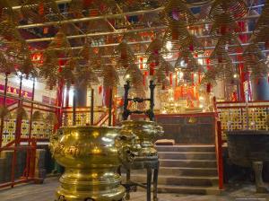 Tin Hau Temple, Causeway Bay, Hong Kong, China by Charles Bowman
