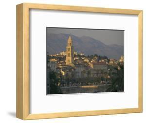 Town Skyline, Split, Croatia, Europe by Charles Bowman