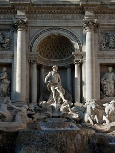 Trevi Fountain, Rome, Lazio, Italy, Europe by Charles Bowman