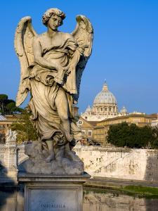 Vatican and River Tiber, Rome, Lazio, Italy, Europe by Charles Bowman