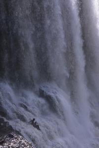 Waterfall in Canaima National Park Venezuela by Charles Bowman