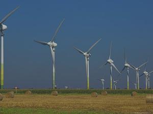Wind Turbines, Lower Saxony, Germany by Charles Bowman