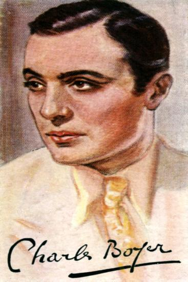 Charles Boyer, (1899-197), French Actor, 20th Century--Giclee Print