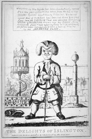 The Delights of Islington, 1772