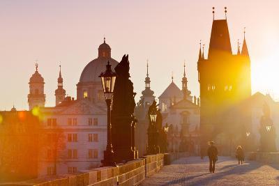Charles Bridge, Old Town, Prague (Unesco), Czech Republic-kaprikfoto-Photographic Print