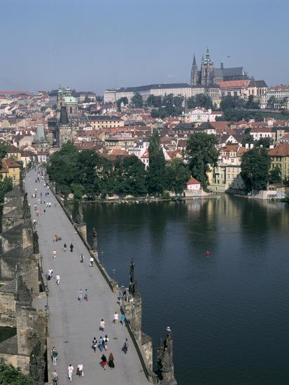 Charles Bridge, Prague, Czech Republic-Peter Thompson-Photographic Print
