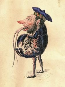 Lobster 1873 'Missing Links' Parade Costume Design by Charles Briton