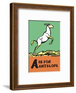 A is for Antelope by Charles Buckles Falls