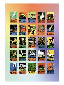 Animal Alphabet by Charles Buckles Falls