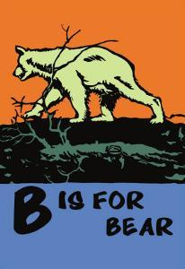 B is for Bear by Charles Buckles Falls