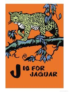 J is for Jaguar by Charles Buckles Falls