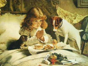 Suspense, 1894 by Charles Burton Barber