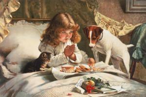 Suspense by Charles Burton Barber