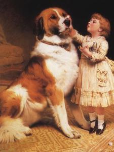 Trust, 1888 by Charles Burton Barber