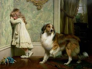 A Special Pleader, 1893 by Charles Carey Rumsey