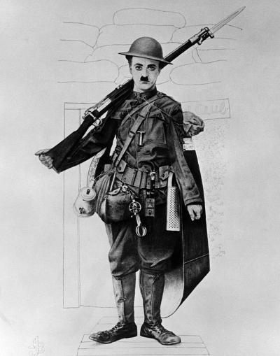 Charles Chaplin--Photo