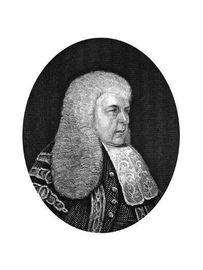 Charles Christopher Pepys, 1st Earl of Cottenham, Lord Chancellor of England, 1877--Giclee Print