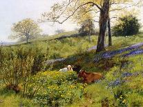 Near Dorking, Surrey, England-Charles Collins II-Framed Giclee Print