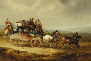 The London to Worcester Royal Mail by Charles Cooper Henderson