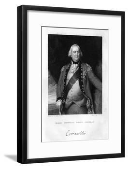 Charles Cornwallis (1738-180), 1st Marquess Cornwallis, 1839-S Freeman-Framed Giclee Print