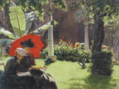 Afternoon in the Cluny Garden, Paris, 1889