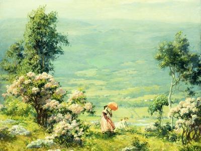 Pink Parasol, 1927