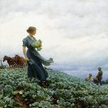 Songs Of Childhood-Charles Courtney Curran-Art Print
