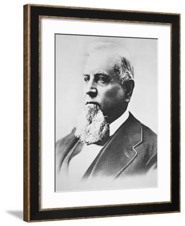 Charles Crocker (1822-88)--Framed Giclee Print