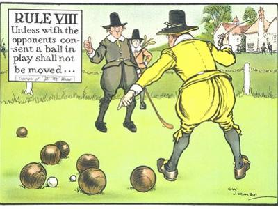 Rule VIII: Unless with the Opponents Consent a Ball in Play Shall Not be Moved by Charles Crombie