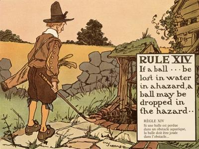 Rule XIV: If a Ball Be Lost in Water in a Hazard, a Ball May Be Dropped in  by Charles Crombie