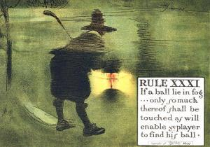 Rule XXXI: If a Ball Lie in Fog by Charles Crombie