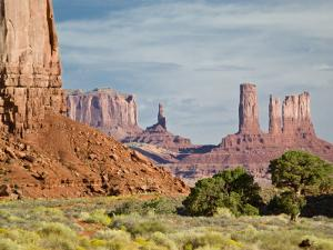 The North Window, Monument Valley Navajo Tribal Park, Utah, USA by Charles Crust