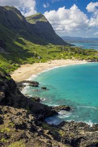 USA, Hawaii, East Oahu, Makapuu Beach by Charles Crust
