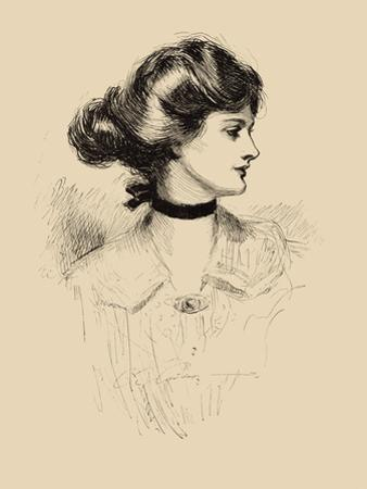A Daughter of the South by Charles Dana Gibson