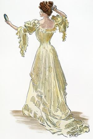 A Gibson Girl, 1903 by Charles Dana Gibson