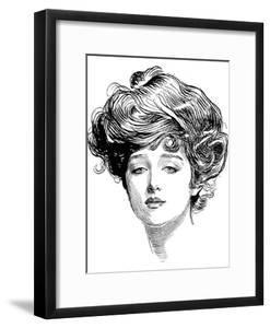 Gibson Girl, 1900 by Charles Dana Gibson