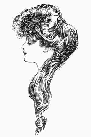 Gibson Girl, 1903 by Charles Dana Gibson