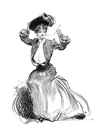 Gibson Girl, 1904 by Charles Dana Gibson