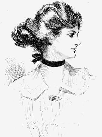 Gibson Girl, 1905 by Charles Dana Gibson