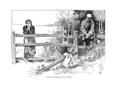 Golf Game, 1895 by Charles Dana Gibson