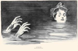 In the Swim by Charles Dana Gibson
