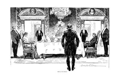 Lucky Rich, 1896 by Charles Dana Gibson