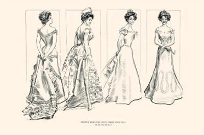 People Who Will Have Their Own Way by Charles Dana Gibson