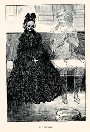 The Evening by Charles Dana Gibson
