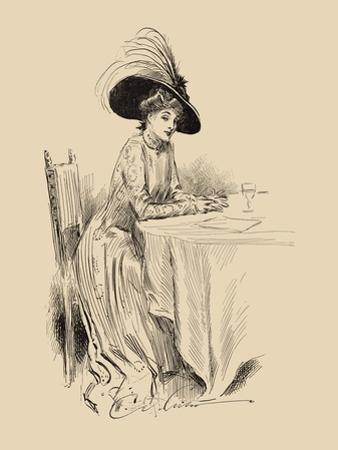 The Rendez-Vous by Charles Dana Gibson