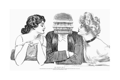 The Weaker Sex by Charles Dana Gibson