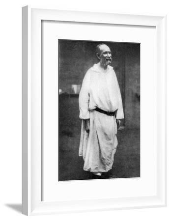 Charles De Foucauld, French Catholic Priest and Missionary, 1915--Framed Giclee Print