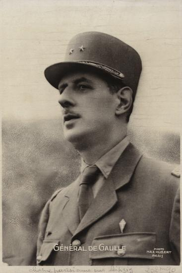 Charles De Gaulle--Photographic Print