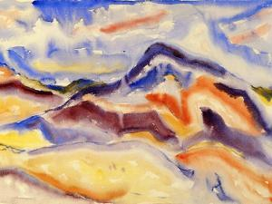 Abstract Landscape, 1915 by Charles Demuth